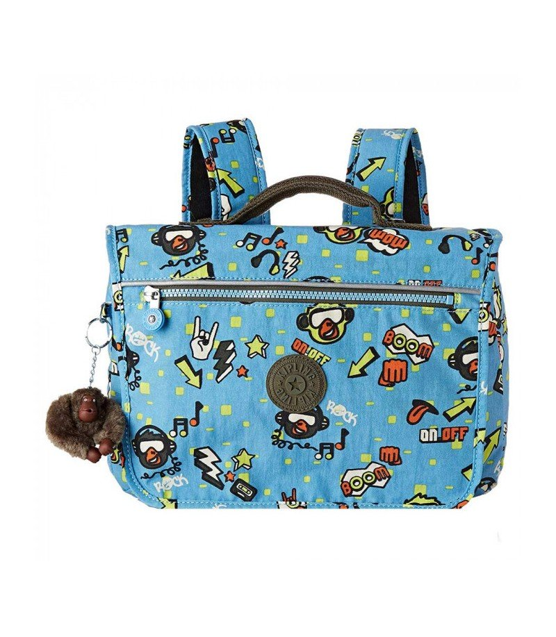 Petit cartable - New School -  Kipling - Monkey