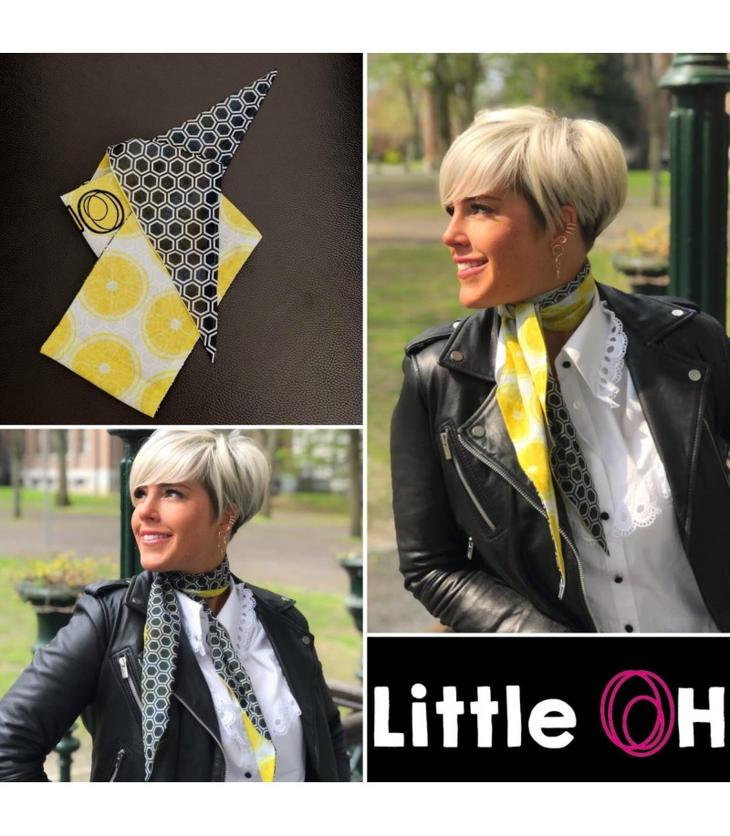 Hitch - Foulard - réversible - Little Oh - 6185
