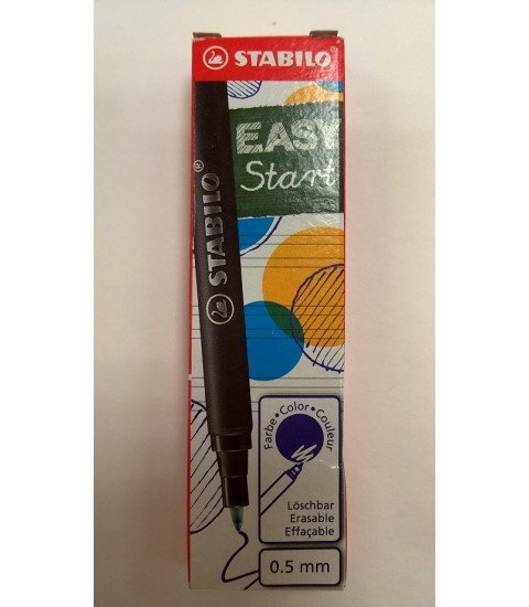 Stabilo Easy recharges bleues
