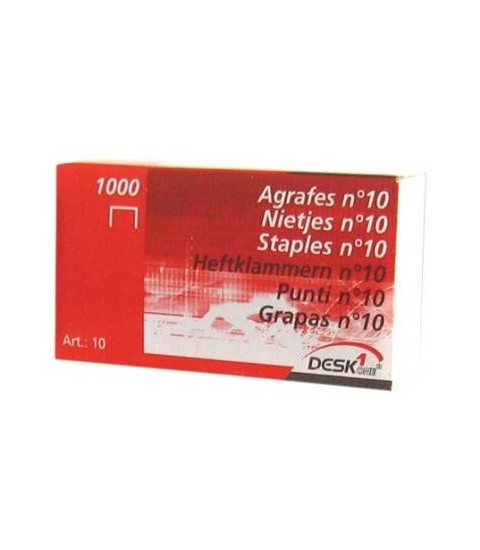 Agrafes 10/1000 - Genmes