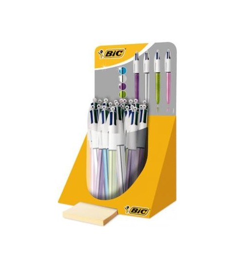 Bic 4 couleurs shine Rose - BIC