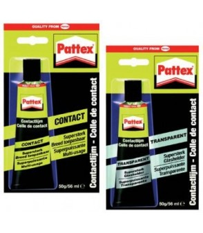Pattex transparent 50gr
