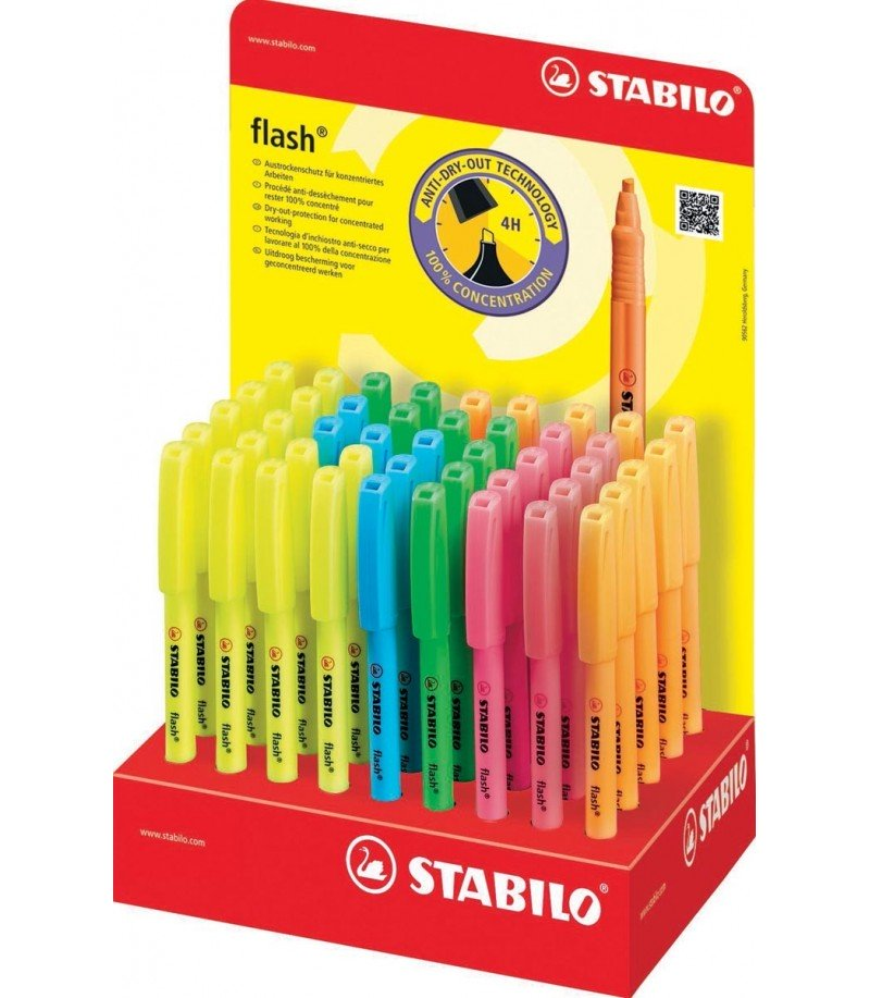 Stabilo boss- BIC - flash surligneur