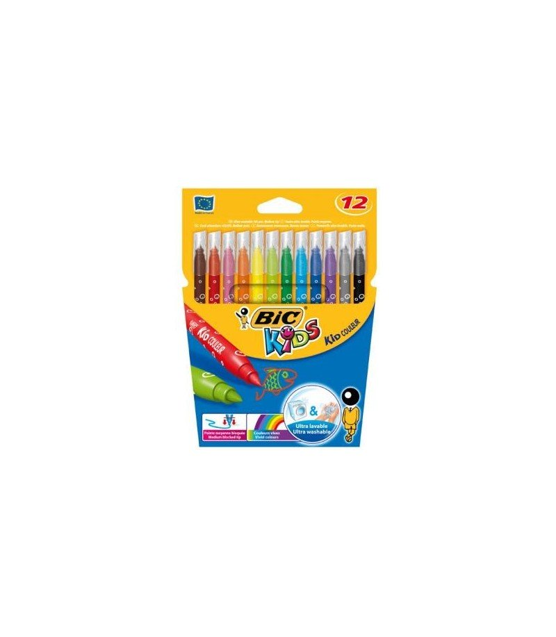 Marqueurs Bic Kids medium 12